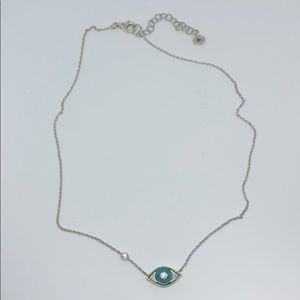 Silpada N3342 Turquoise evil eye necklace RARE